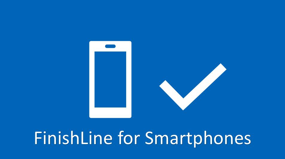 FinishLine for Smartphones