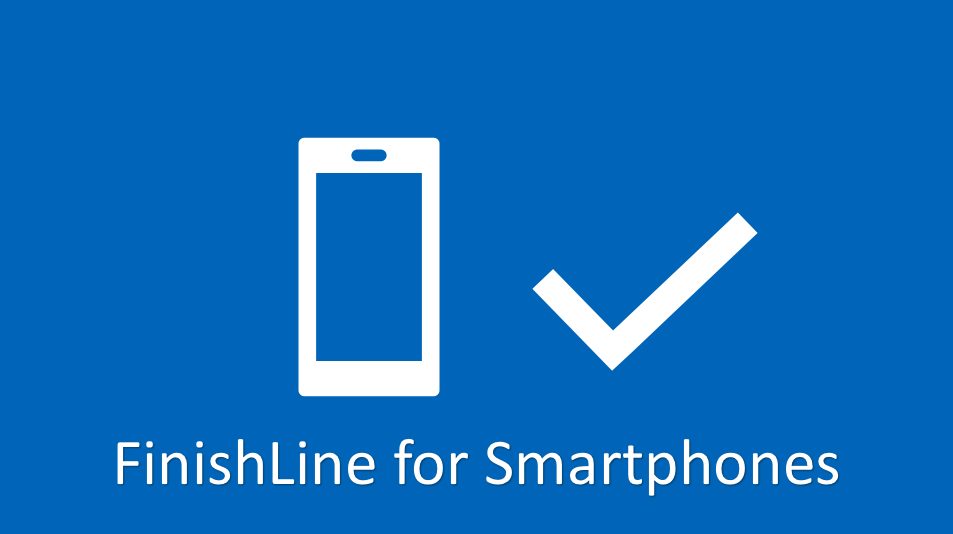 FinishLine for Smartphones