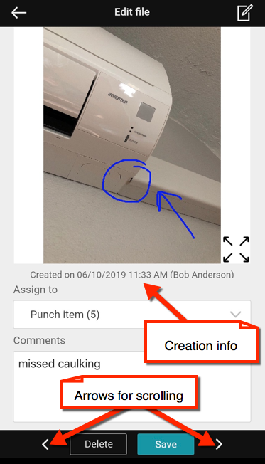 Edit File iPhone