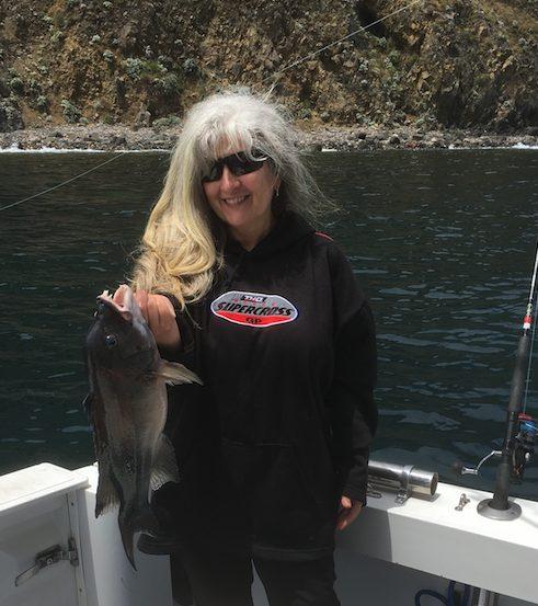 marci fishing