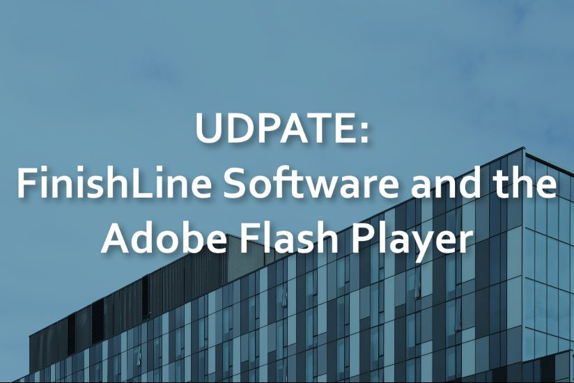 header image for finishline and adobe update